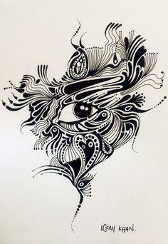 Pen&Ink by Irfan Khan....  mirkha12@yahoo.com