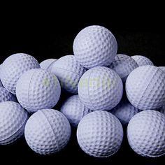 Free Shipping New 30pcs White PU Foam Golf Balls Sponge Elastic Indoor Outdoor Practice Training | #GolfBalls