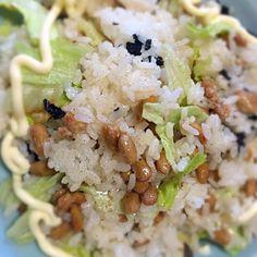 ご飯少ししかなかったから混ぜ物で量増ししたら増えすぎちゃった系 - 23件のもぐもぐ - 納豆混ぜご飯 by geko