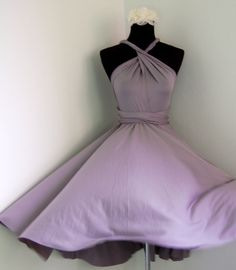 Multiway Convertible Dress Bridesmaids Dress, Prom and Cocktail Dress, Evening Dress. $45.00, via Etsy.