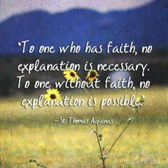 St. Thomas Aquinas (One of my Very Favorite Scriptural Verses!!)
