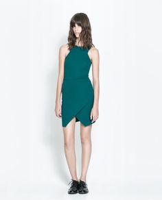 ZARA - TRF - DRESS WITH CROSSOVER SKIRT