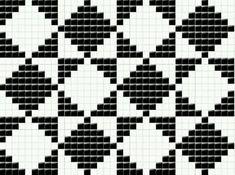 Tapestry Crochet Patterns, Fair Isle Knitting Patterns, Intarsia Patterns, Patchwork Patterns, Knitting Charts, Crochet Motif, Knitting Stitches, Blackwork Cross Stitch, Cross Stitch Bird