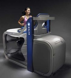 Women's Health includes AlterG as one of the wild ways athletes train for the Olympics.