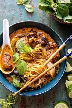 Asian Recipes, New Recipes, Dinner Recipes, Cooking Recipes, Favorite Recipes, Healthy Recipes, Ethnic Recipes, Half Baked Harvest, Chicken Recipes