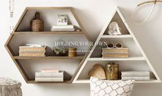 shelving and hooks