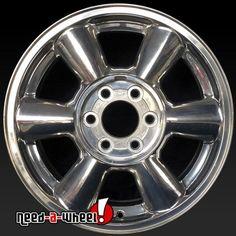 "2002-2007 GMC Envoy oem wheels for sale. 17"" Polished stock rims 5143 https://www.need-a-wheel.com/rim-shop/17-gmc-envoy-oem-wheels-rims-polished-5143-2/, , #oemwheels, #factorywheels"