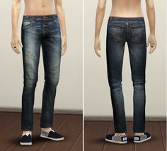 Nudie jeans 2 for males at Rusty Nail via Sims 4 Updates