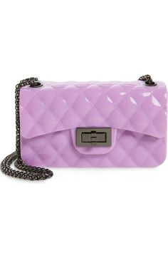 Popatu Quilted Jelly Crossbody Bag (Girls) available at #Nordstrom