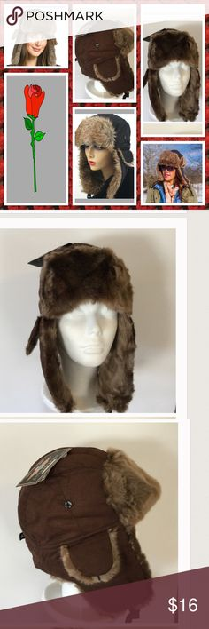 f949a5a758e45 Halloween Sale 🎃⚡ Trapper Hat Too cute faux fur trapper hat