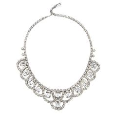 Have your neck draped in diamonds for your wedding.