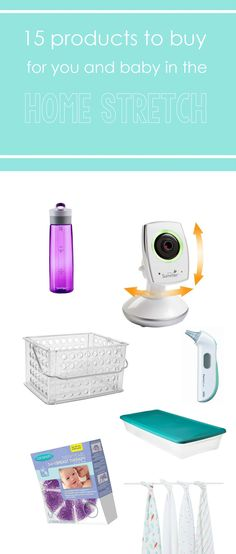 Great round-up of must-have products you'll need for the first few weeks home with your baby. via BabyCenter
