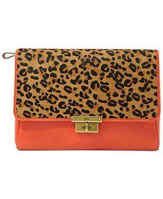 Fossil Handbag, Memoir Haircalf Diary Clutch - Handbags & Accessories - Macy's