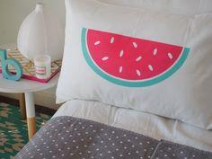 Giant melon pillowcase from ilovelinen.com.au - for study?