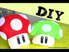 DIY Almofada Super Mario - YouTube