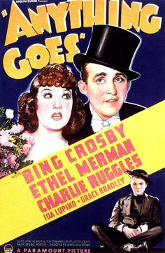 """""""Anything Goes""""  (1936) Bing Crosby,  Ethel Mermen, Charlie Ruggles"""