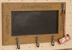 Primitive Chalkboard  ~from Country Craft House