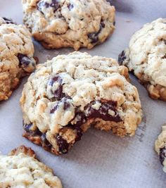 """""""Miracle Milk"""" Cookies With Quick Oats and Chocolate Chips Lactation Recipes For Breastfeeding Moms Breastfeeding Foods, Breastfeeding Smoothie, Brewers Yeast, Def Not, Lactation Recipes, Lactation Foods, Healthy Lactation Cookies, Freezer Meals, Baby Food Recipes"""