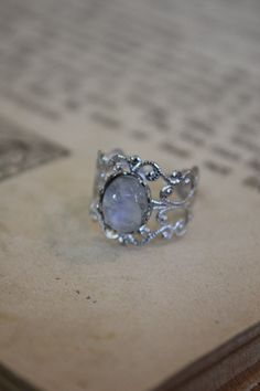Aww moonstones are so much prettier than diamonds.