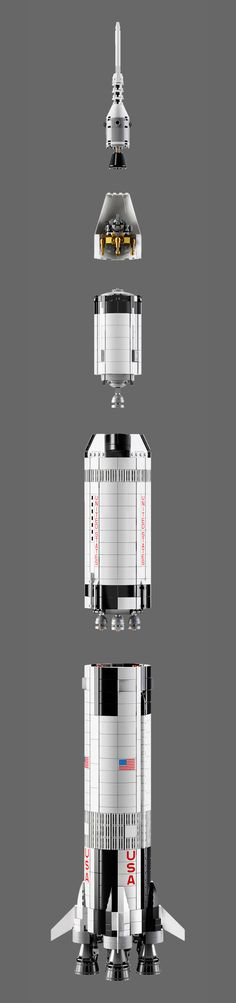 "The countdown has begun for the launch of LEGO's Saturn V moon rocket. LEGO rolled out its first photos and filed its ""launch plan"" for the ""NASA Apollo Saturn V"" model set to be released on June 1. The set is based on a fan submission on LEGO Ideas."