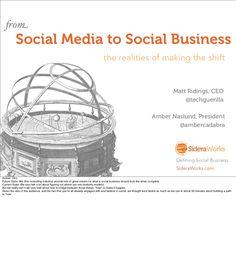 Social Media to Social Business Presentation.