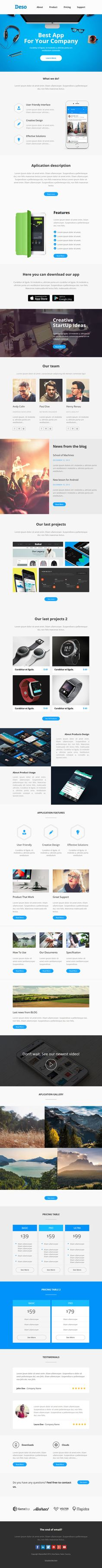 Mail Pack  Responsive Email Template  Responsive Email