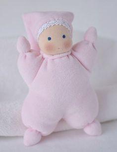 Mnoho podob panenky - 1. část miminka   Ekopanenky s duší - blog Tere Smejky