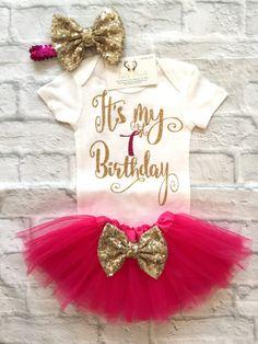 Baby Mädchen Kleidung ersten Geburtstag Bodysuit es meine