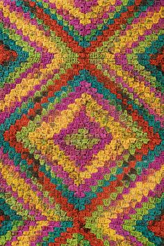 Crochet On the Moves Throw Pattern
