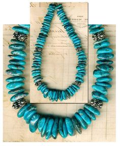 """Mexican NACOZARI TURQUOISE Beads Blue Natural Color Genuine 6-10mm 8"""" Str."""