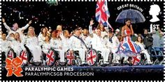 Memories of London 2012.                  Issued Sept 2012.                                     Paralympic Games.                                            ParalympicGB Procession