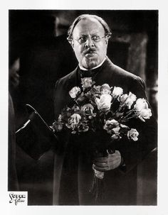 https://flic.kr/p/DjWbin | Emil Jannings in Der blaue Engel (1930) | Small German collectors card. Photo: Super film. Publicity still for Der blaue Engel/The Blue Angel (Josef von Sternberg, 1930). If Weimar cinema had one film star, then it was Emil Jannings (1884-1950) for sure. He was a great actor in the silent era and won the first Oscar for Best Actor. Priceless are his performances as Louis XV in Lubitsch' Madame Dubarry (1919), as the doorman in Murnau's The Last Laugh (1924), the…