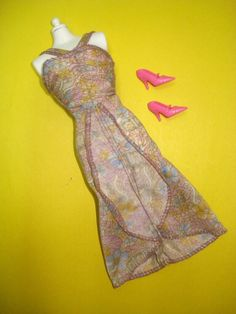Vtg Barbie SUPERSTAR 70s Doll Clothes Lot FASHION COLLECTIBLE Dress 1979 1362