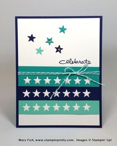 Stampin up stampinup mary fish stamping pretty endless birthday wishes 2