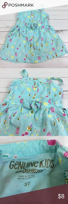 Oshkosh ice cream baby blue dress Excellent used condition no rips and stains OshKosh B'gosh Dresses Casual