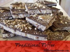 Traditional Toffee recipe
