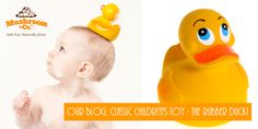 Rubber duckies are a classic toy for the bath but many plastic ducks can be made from toxic and BPA-laden materials which are most probably mass produced in china, which is why we love our natural rubber ducks which have been made in Spain by a family run business since 1952. Read More in our blog http://www.mushroomandco.com/blogs/blog