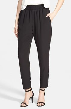 Free shipping and returns on Lush 'Perfect' Woven Pants at Nordstrom.com. Perfect your laid-back look with these tapered pants cut to a cool cropped length.