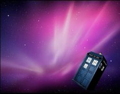 Tardis, Doctor Who, Northern Lights, Tenth Doctor, Aurora, Nordic Lights, Aurora Borealis