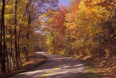 2. Blue Ridge Parkway (near Afton)