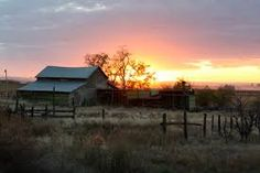 Love a barn and a sunset