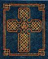 """This Celtic Cross pattern is for a quilt that measures 28"""" x 33"""" and uses 18 yards of bias, of either your own made or readymade tape in two sizes: 1/4"""" and 3/8"""". For hand or machine applique. The pattern is $10 usd at www.ScarlettRose.com"""