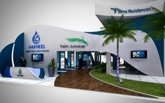 Nakheel Exhibition Booth @ CityScape on Behance