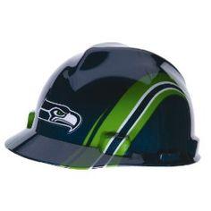 MSA Safety 10098091 NFL Seattle Seahawks V-Gard Hard Hat