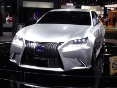 Lexus LF-Gh at NY Auto Show 2011. Photo credit: Alexander Bell.
