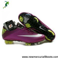 CR Nike Mercurial Vapor Superfly III FG Plum Windchill Volt Football Shoes For SaleFootball Boots For Sale