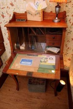 Laura's writing desk