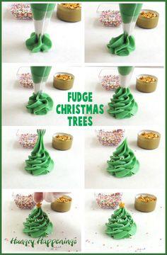 The WHOot Christmas tree meringues recipe, Christmas