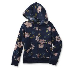 Toughskins Infant & Toddler Girl's Hoodie Jacket - Floral