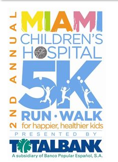 2nd Annual Miami Children's Hospital 5K Run:Walk Presented by TotalBank, Coral Gables Saturday, September 29, 2012-logo